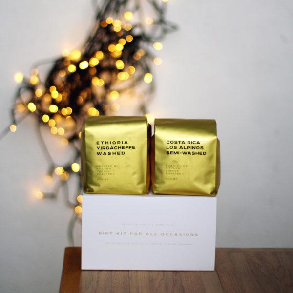 кофе в подарочной коробке